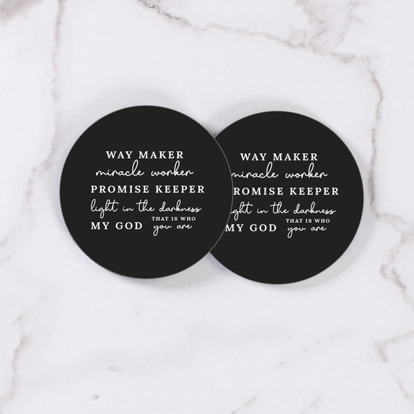 Way Maker - Table Coasters