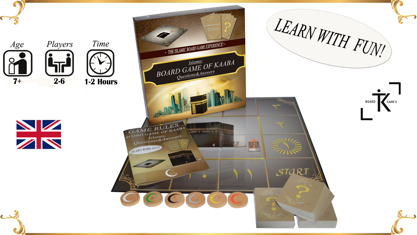 BOARD GAME OF KAABA - the islamic board game experience ! [English  Version]