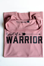 Load image into Gallery viewer, Heart of a Warrior Womens Graphic T-Shirt