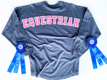 Load image into Gallery viewer, Equestrian Over Sized Jersey Crew