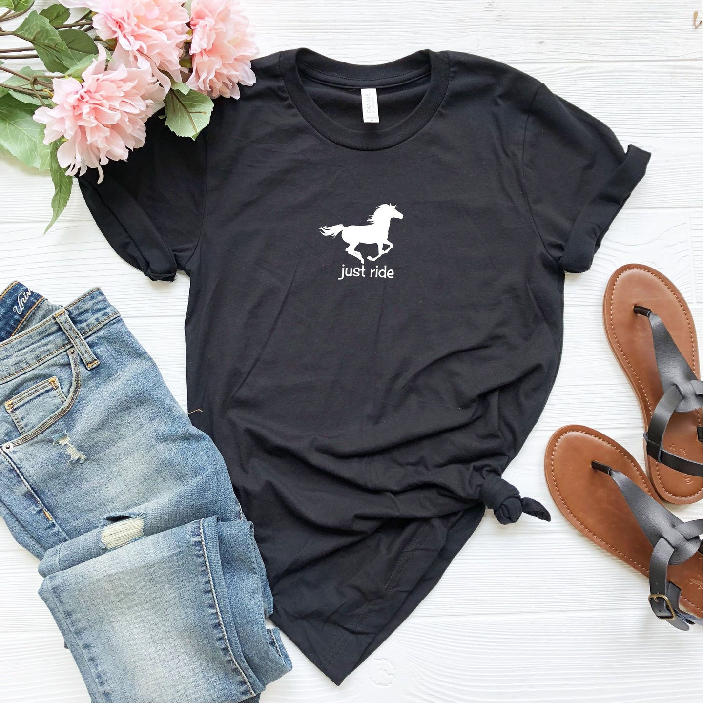 Just Ride Short Sleeve Tshirt