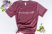 Load image into Gallery viewer, Live. Laugh. Ride English Jumper
