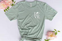 Load image into Gallery viewer, LOVE Horse Heart Graphic Tshirt