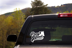 Pony Squad Horse Lovers Vinyl Car Decal- Window Vinyl Decal- Trailer Decal