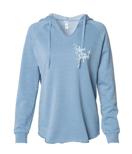 Shine The Brightest Womens Hooded Pullover