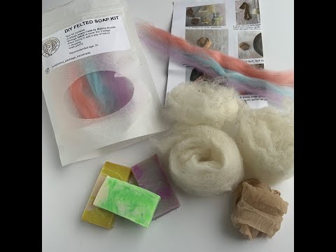 DIY Soap Felting Tutorial