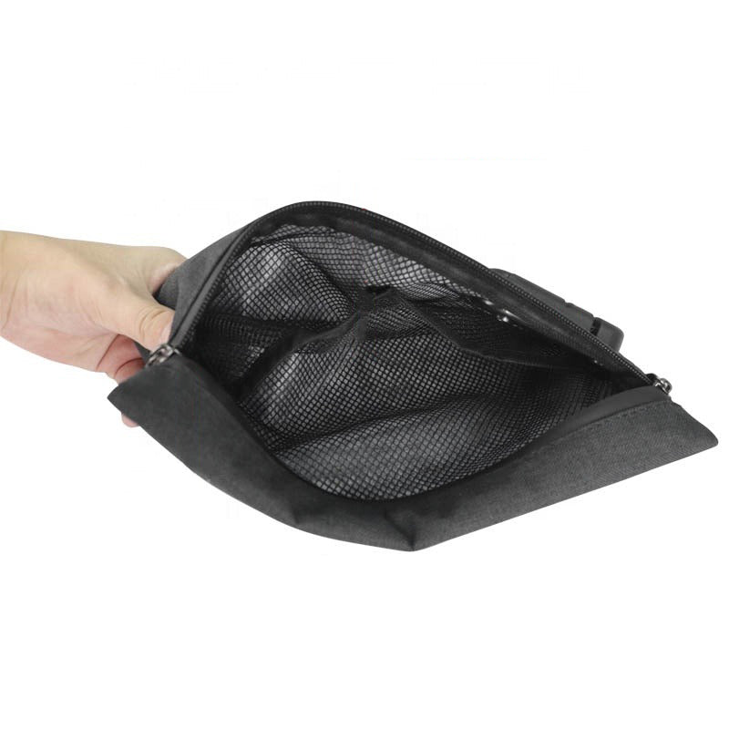 Carbon lined odor smell proof bag with lock