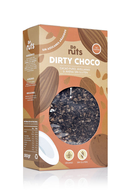 Dirty Choco - GLUTEN-FREE / NO SUGAR / PLANT BASED