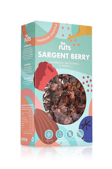 Sargent Berry - GLUTEN-FREE / NO SUGAR / PLANT BASED
