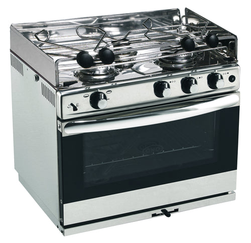 Eno Stoves - Open Sea 3 Burner S/S oven and grill