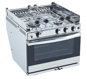 Eno Stoves - Bretagne 3 Burner S/S oven with grill