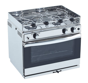 Eno Stoves - Open Sea 2 Burner S/S oven with Grill