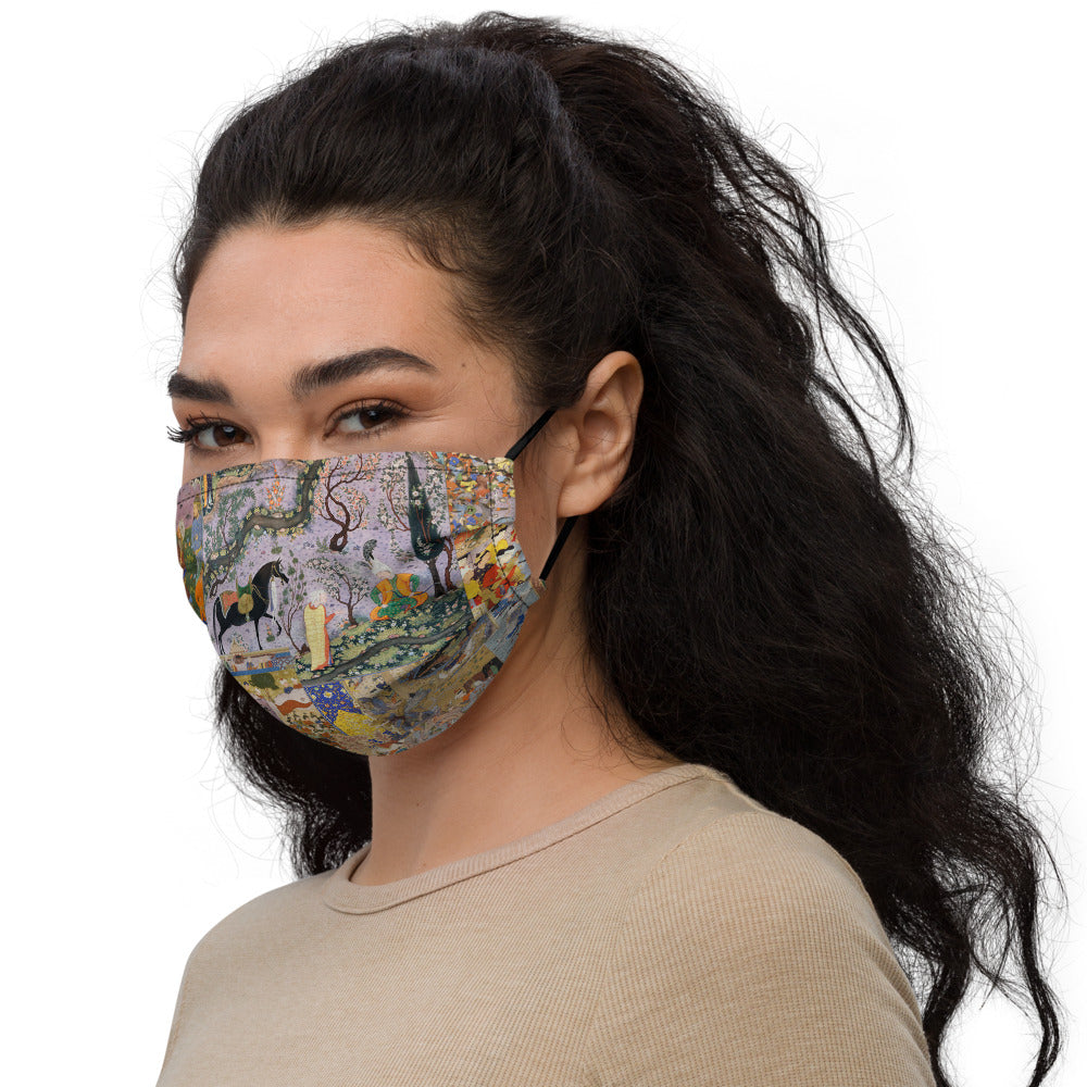 Persian Miniature Premium face mask