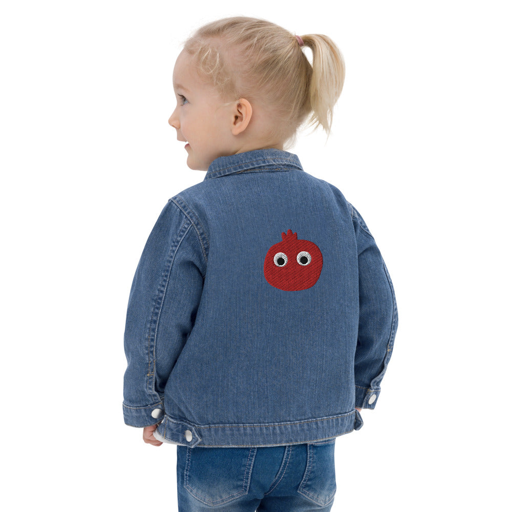 Anaar Kids Label - Embroidered Baby Organic Jacket