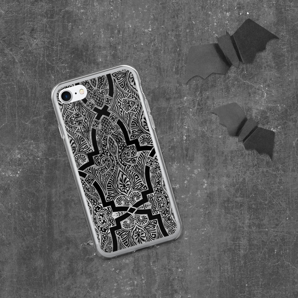 Silver Ornament iPhone Case
