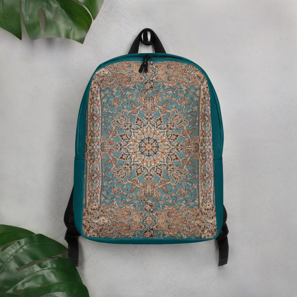 Persian Carpet Minimalist Backpack