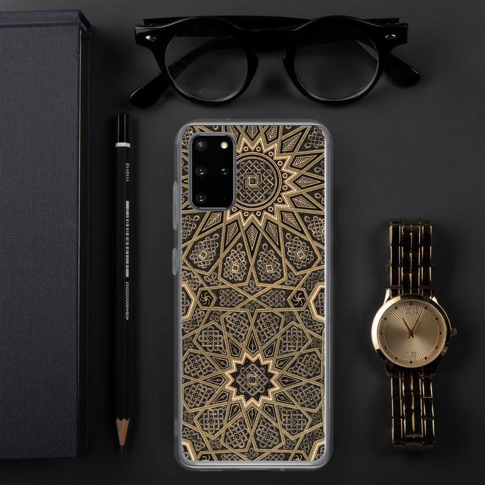 Black & Gold Samsung Case