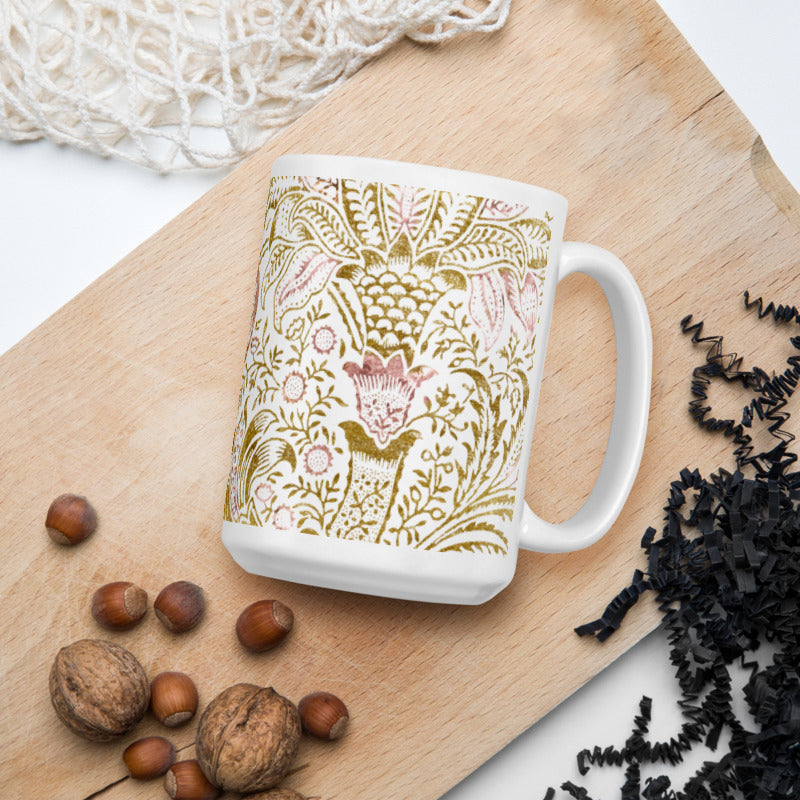 Rose & Gold Ceramic Mug