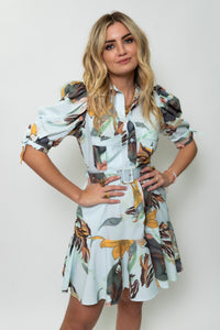 Beautiful Short Tropical Dress