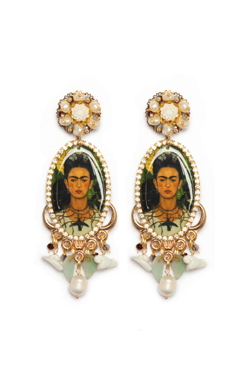Frida Self Portrait Earrings