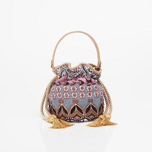Subtle Colors Boucher Bucket Bag