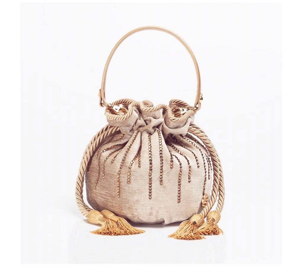 Gold Buquet Bag