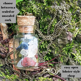 Beach in a Bottle Seashell Necklace