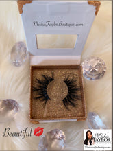 "Load image into Gallery viewer, Mesha Taylor Boutique's High Quality ""Wispy"" Mink Lashes"