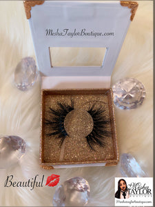 "Mesha Taylor Boutique's High Quality ""Wispy"" Mink Lashes"