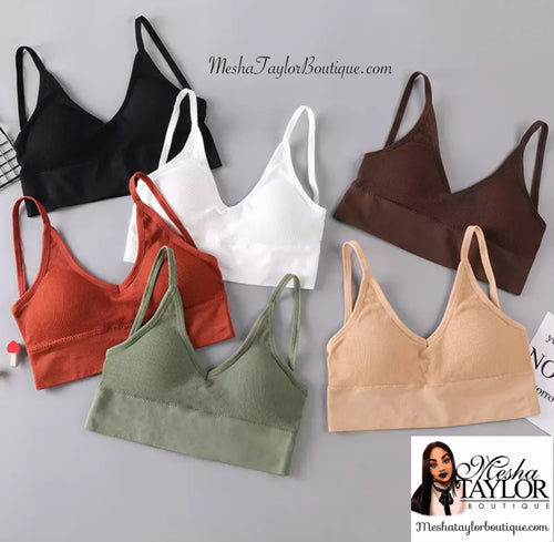 Camisole Crop Tank Tops