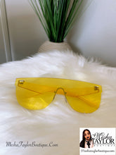 Load image into Gallery viewer, Candy Color Clear Sunglasses