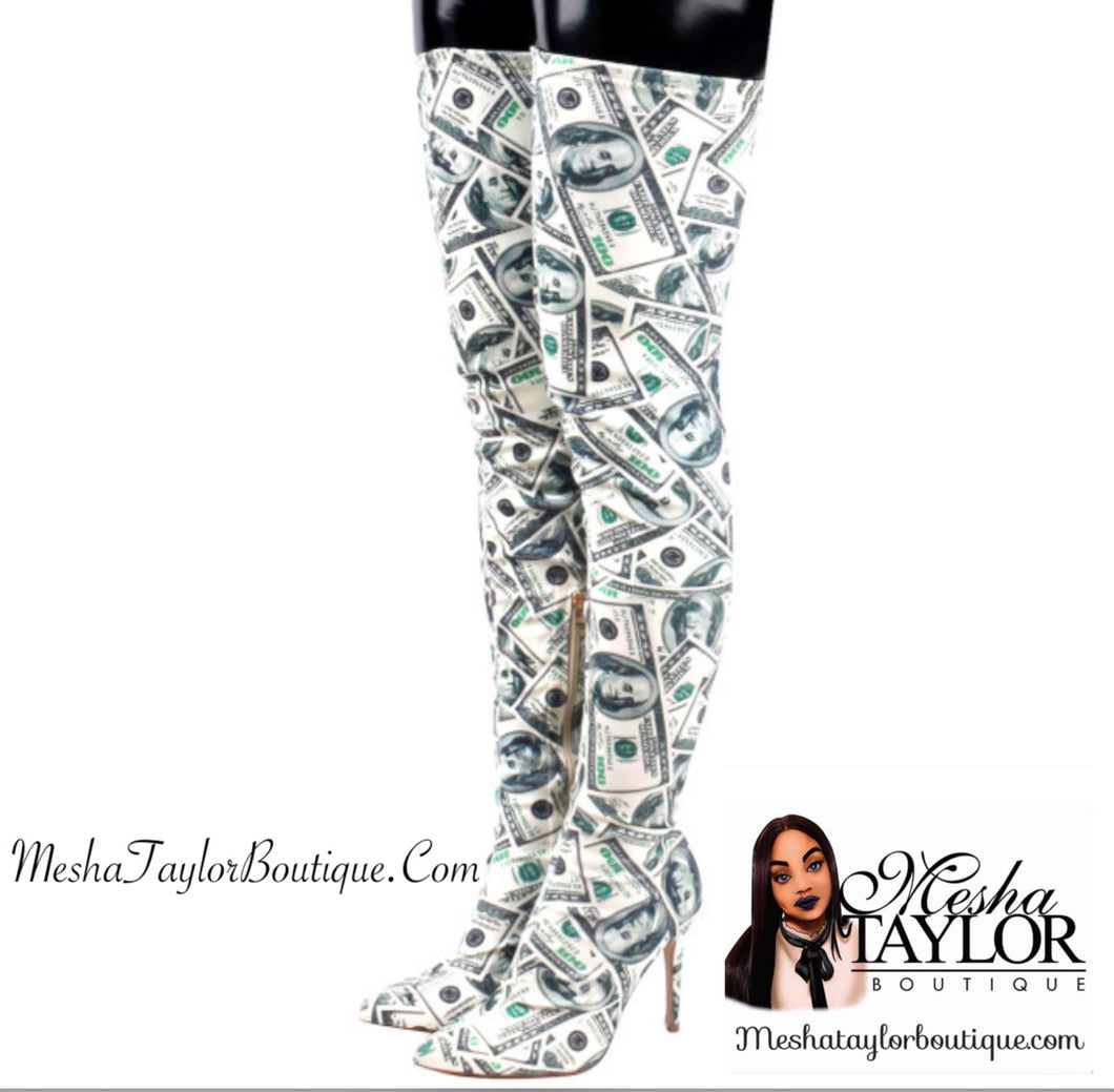 Thigh High Money Boots!