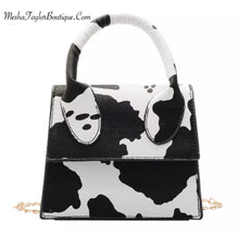 Load image into Gallery viewer, Luxury Mini Cow Print Cross Bag