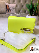 Load image into Gallery viewer, Luxury, Neon, Chain Crossbody Bag