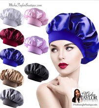 Load image into Gallery viewer, Silk Sleeping Hair Bonnet