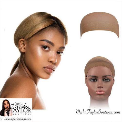 Pack of 2 Stocking Wig Cap