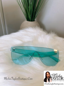 Candy Color Clear Sunglasses