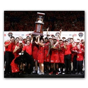 Wildcats Podium Print Lithograph