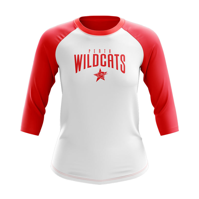 3/4 Baseball Shirt - Ladies
