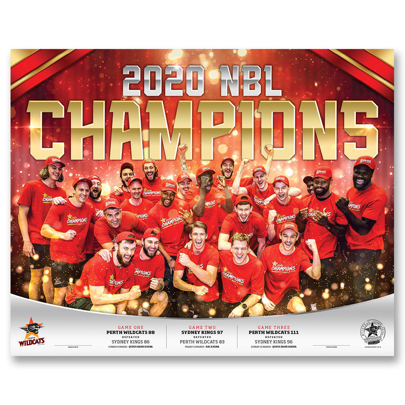 2020 Champions Lithograph