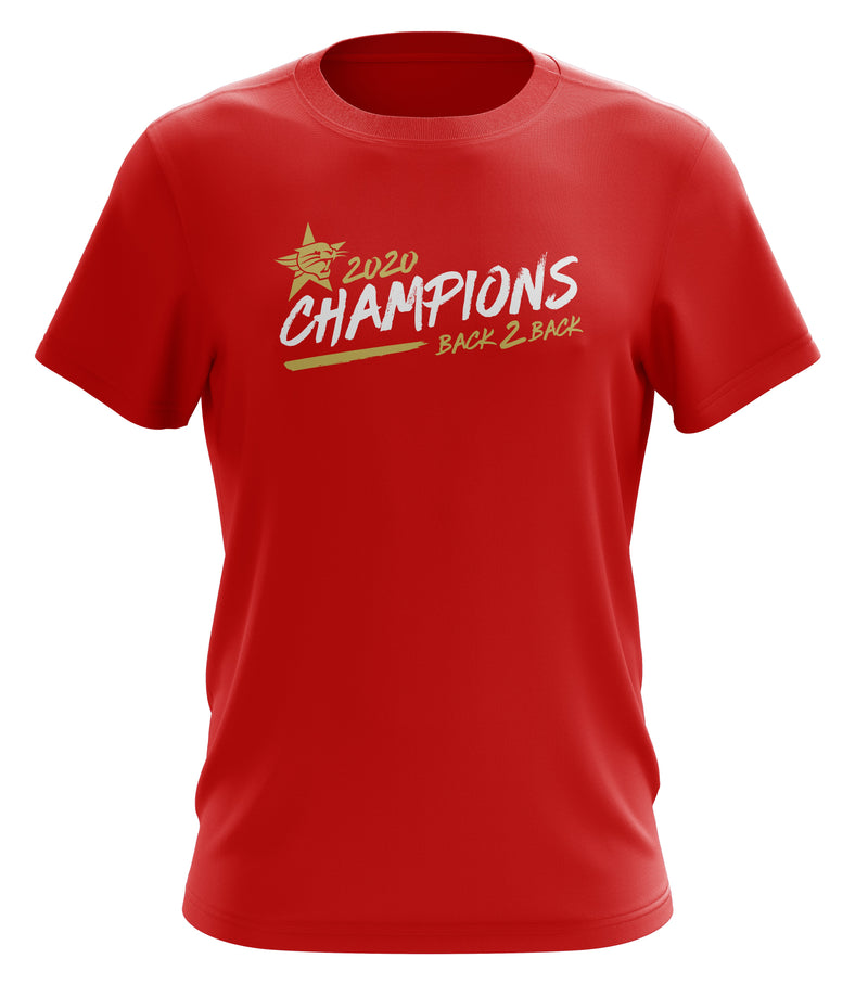 2020 Back 2 Back Champions Logo T-shirt - Youth