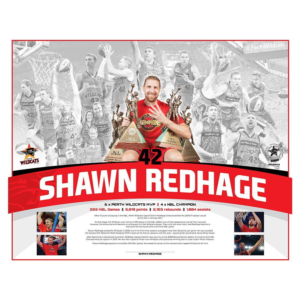 Shawn Redhage Lithograph