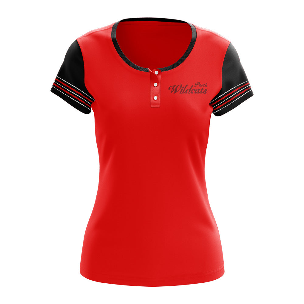 Button T-shirt - Ladies