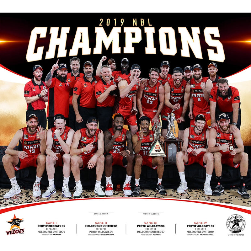 2019 Champions Lithograph