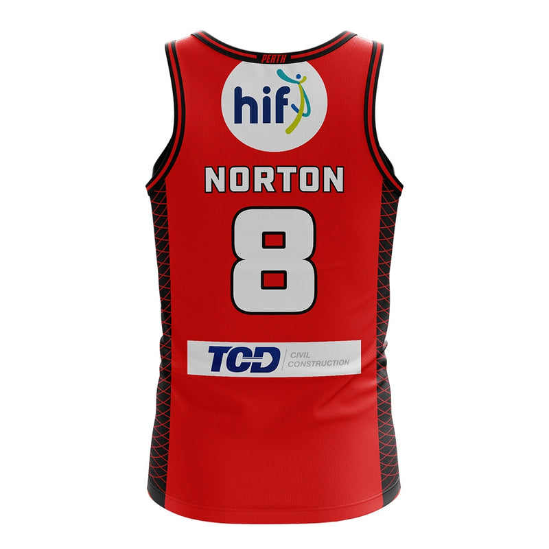 Replica Jersey Norton #8