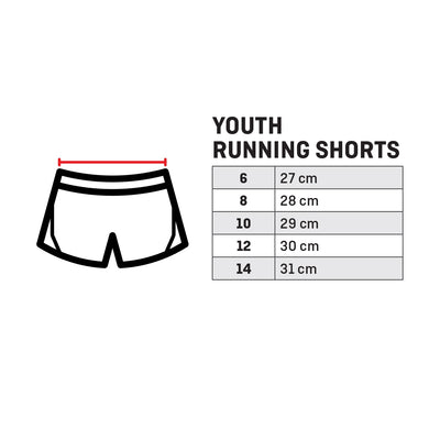 Running Shorts - Youth