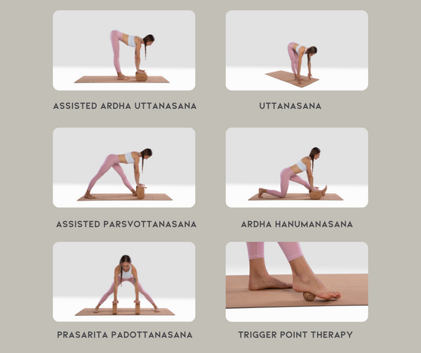 Yoga stretches for hamstrings