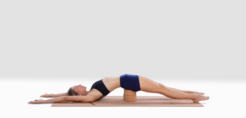 how to use a cork yoga block