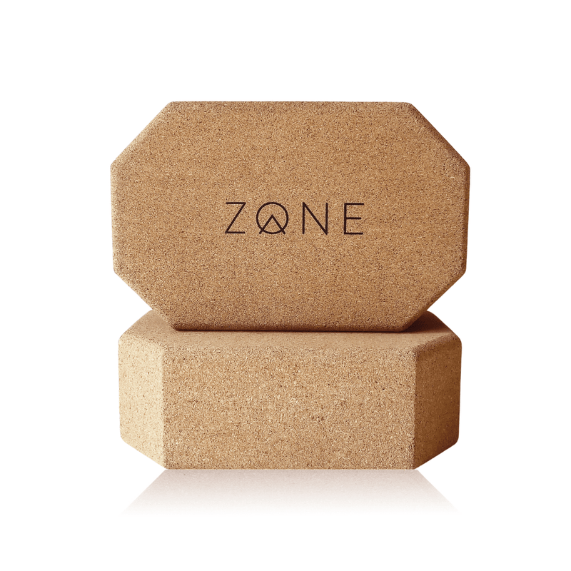 Cork Yoga Block Duo - ZONE