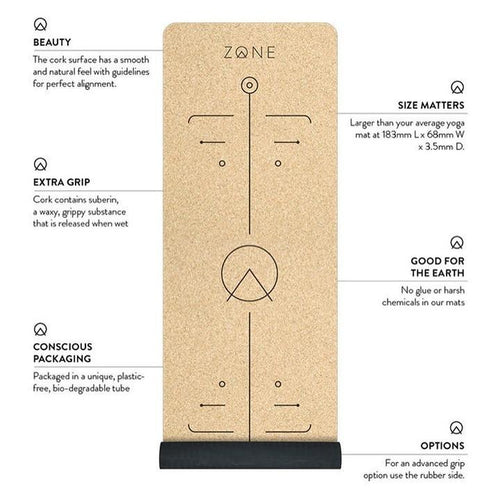 Cork Yoga Mat - ZONE